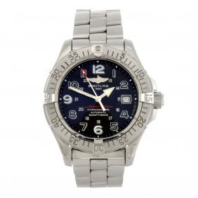 (86812) A Stainless Steel Automatic Gentleman's Bre