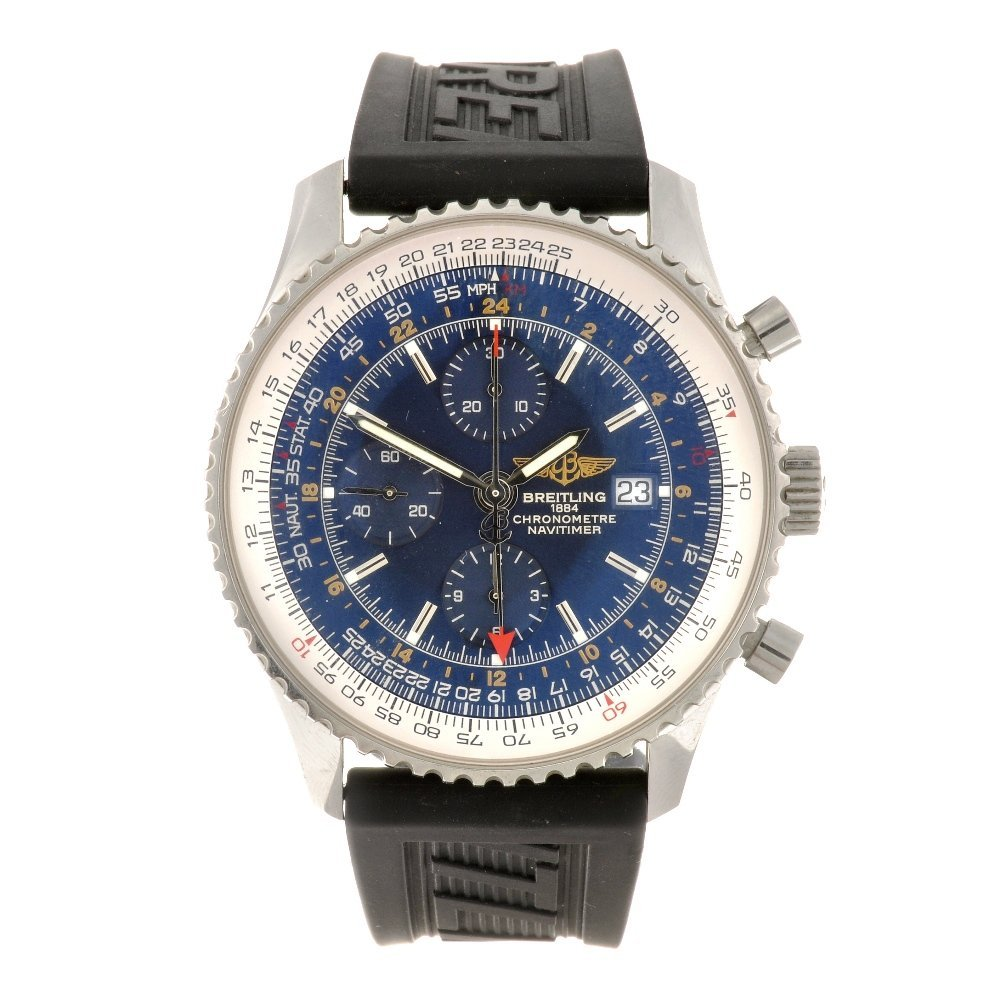 11: (104335) A stainless steel automatic chronograph ge