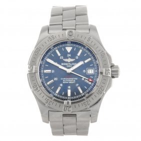 13: (814025760) A stainless steel automatic gentleman's