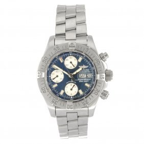 15: (960000160) A stainless steel automatic gentleman's