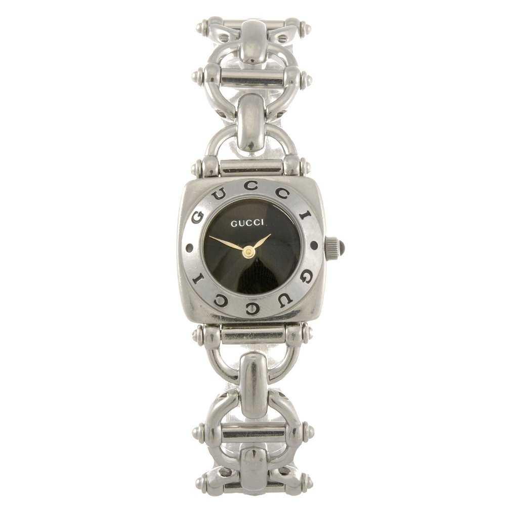 13212cc2a1b 44  A stainless steel quartz lady s Gucci 6400L bracele