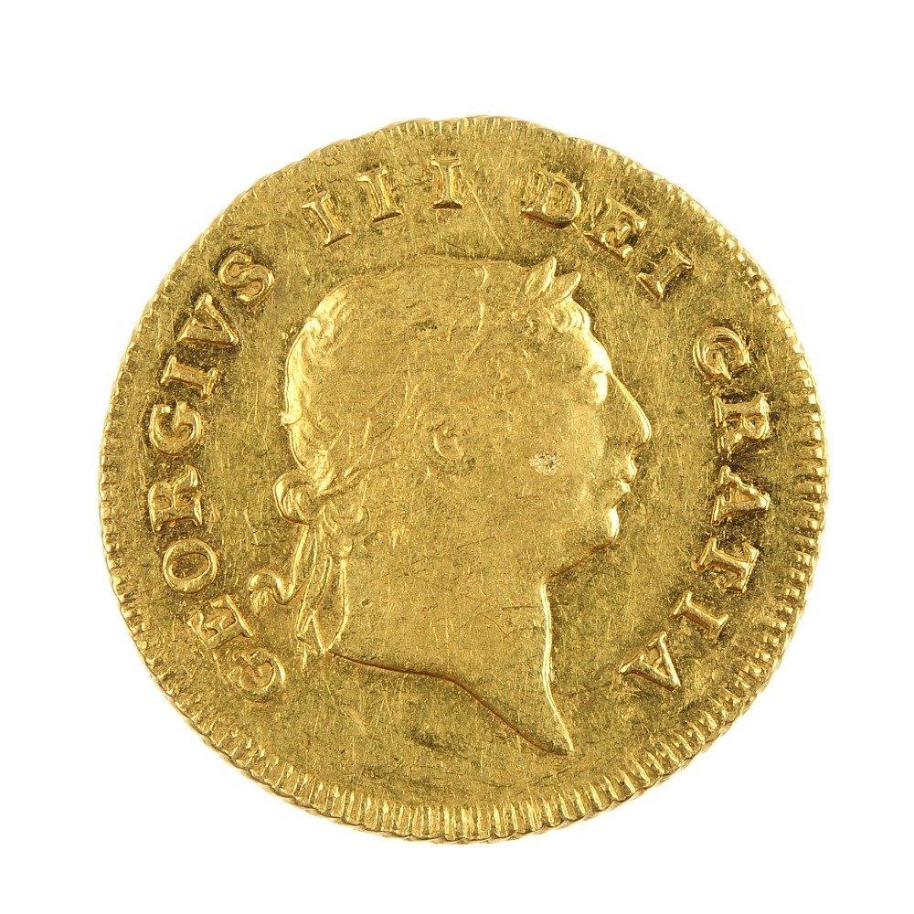 George III Half-Guinea 1806.