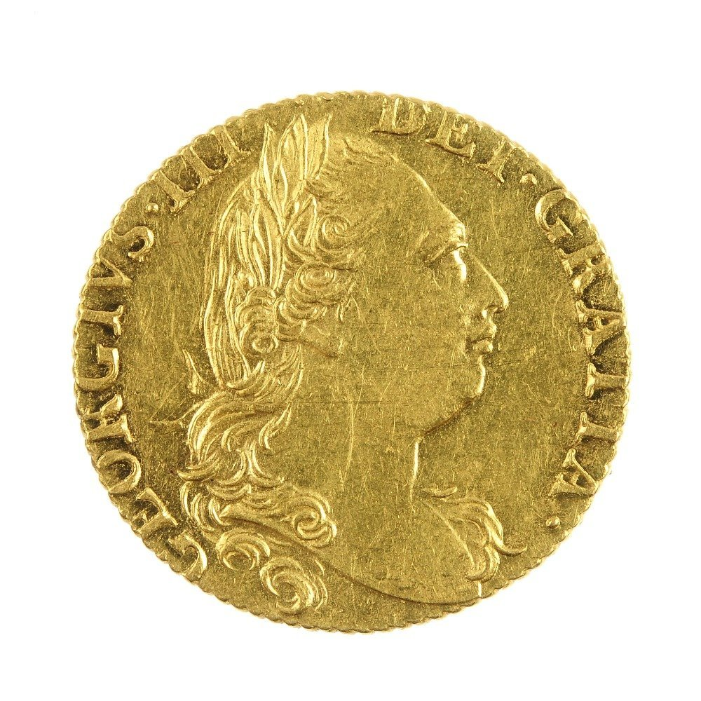 George III Guinea 1774.