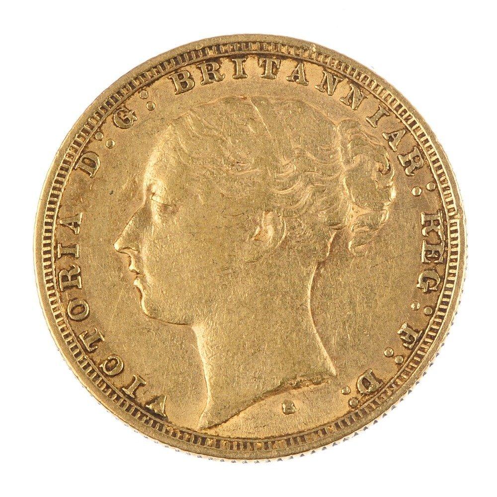 Victoria, Sovereign 1885S.