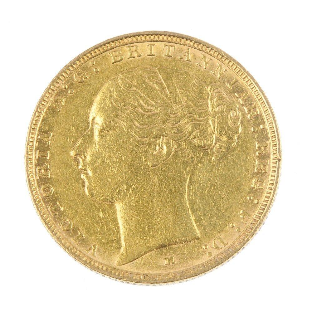Victoria, Sovereign 1886M.