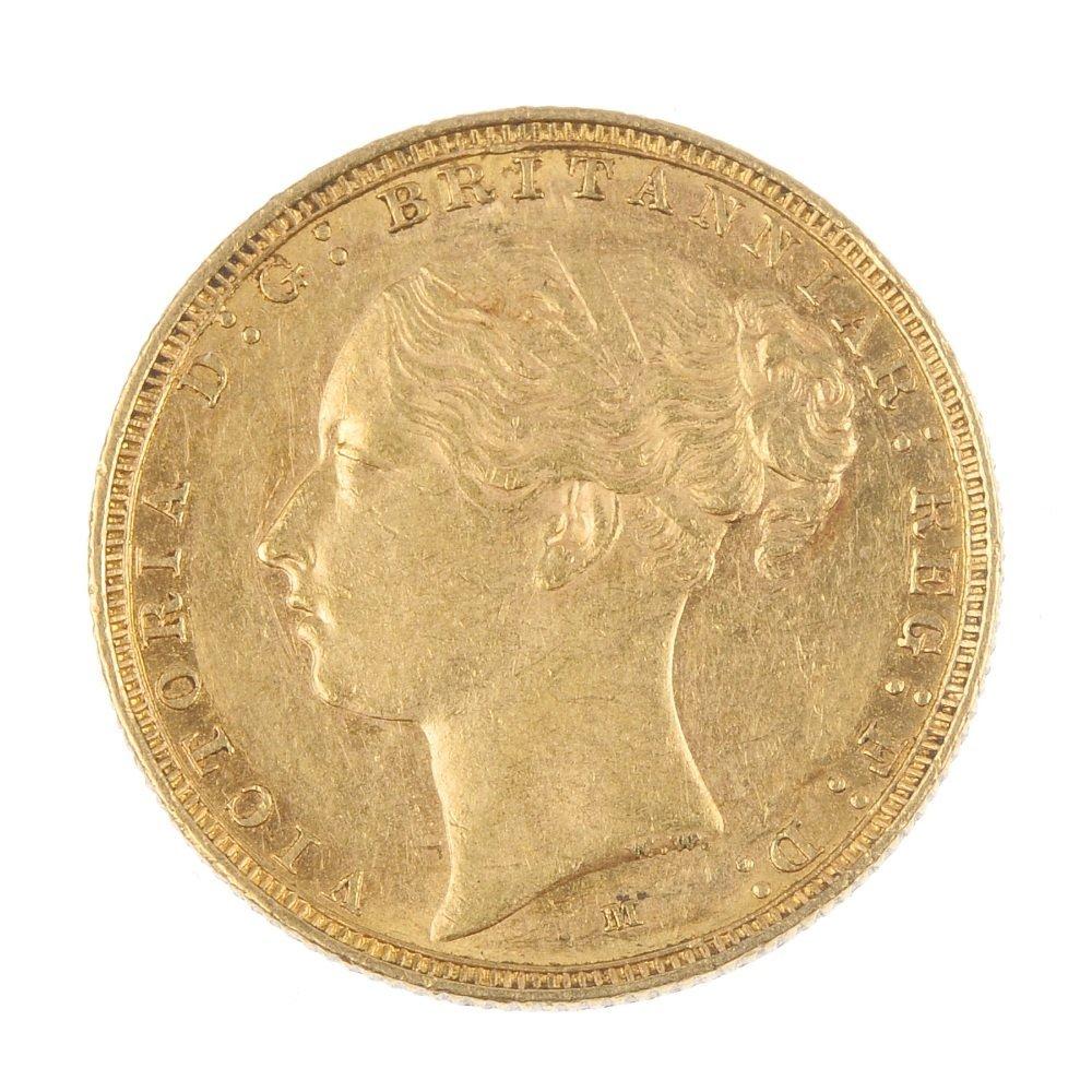 Victoria, Sovereign 1887M.