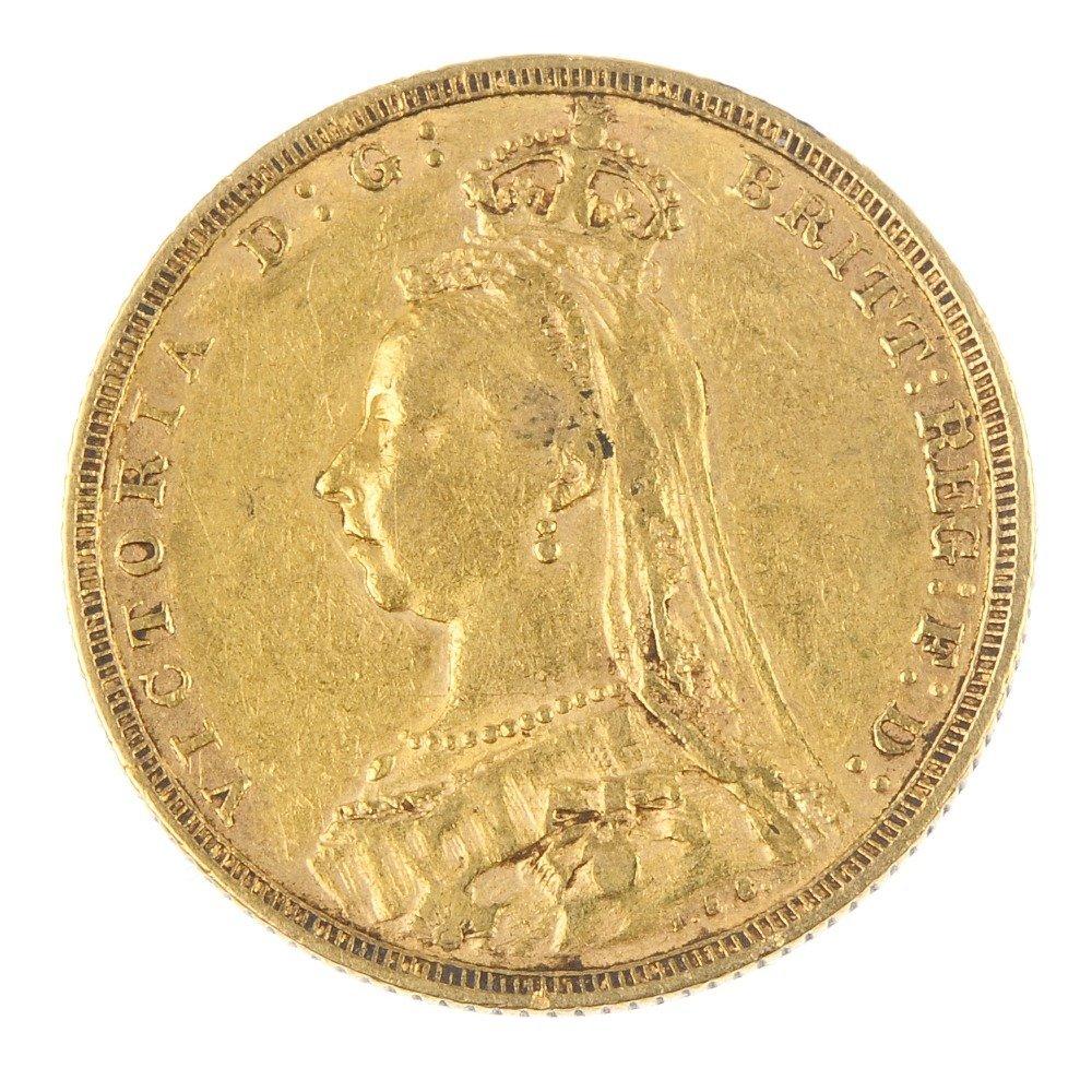Victoria, Sovereign 1888M.