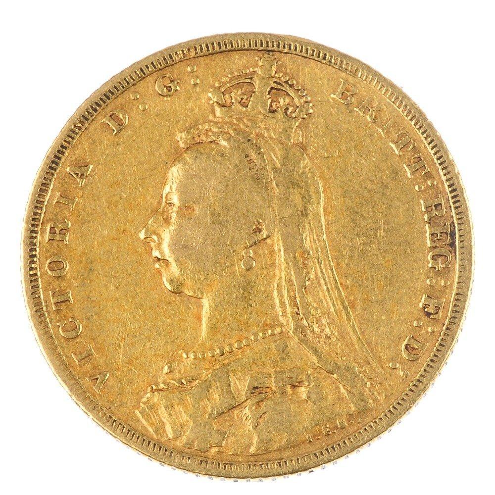 Victoria, Sovereign 1889M.