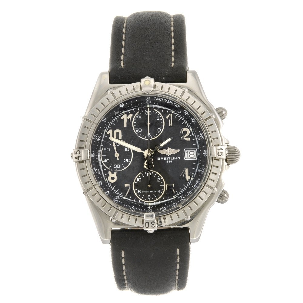 (134177130) A stainless steel automatic chronograph gen
