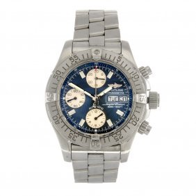 (403046830) A stainless steel automatic gentleman's Bre