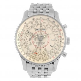 (604012382) A stainless steel automatic gentleman's Bre