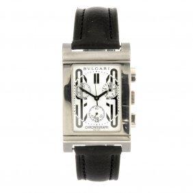 (106940) A stainless steel quartz chronograph gentleman