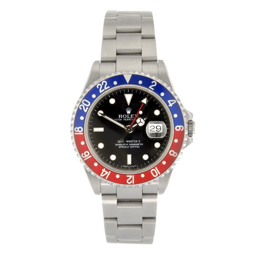 (107155) A stainless steel automatic gentleman's Rolex