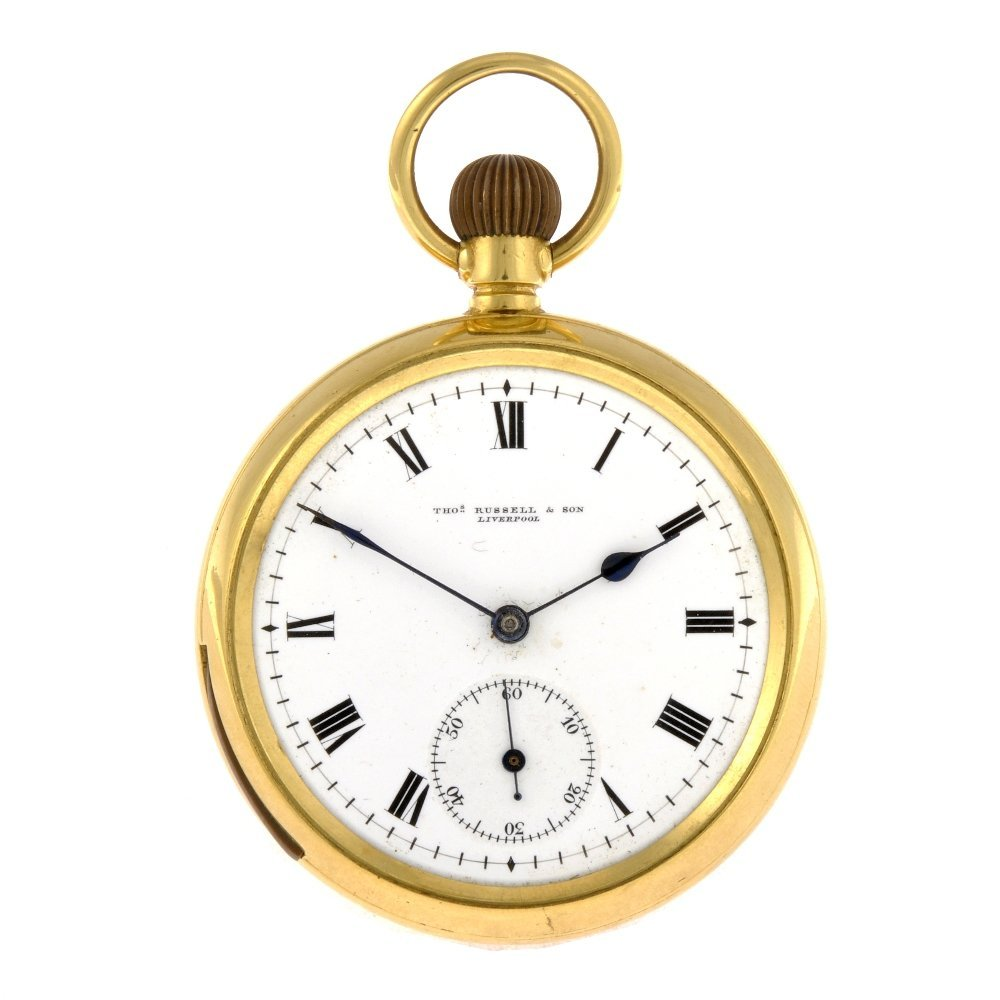 A gold filled keyless wind open face quarter repeater s