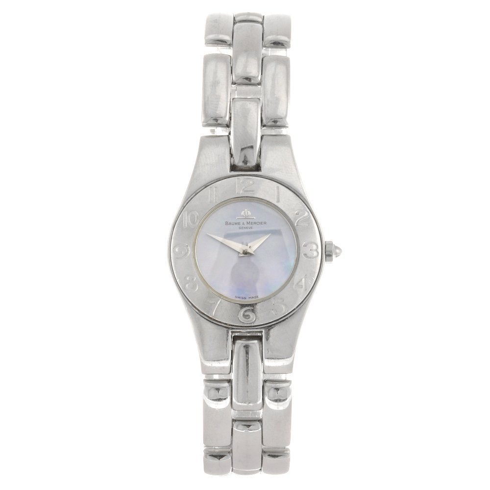 (116191854) A stainless steel quartz lady's Baume & Mer
