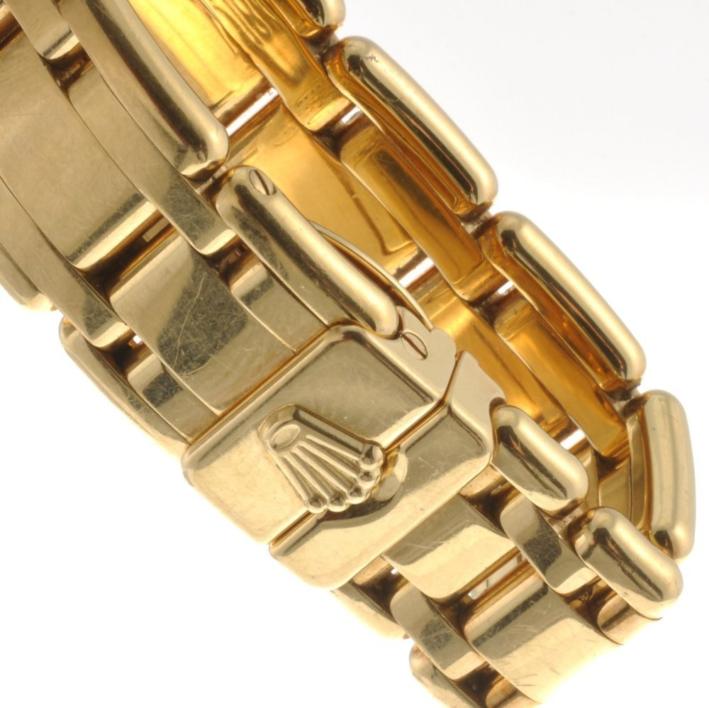 (116190975) An 18k gold automatic lady's Rolex Pearlmas - 4