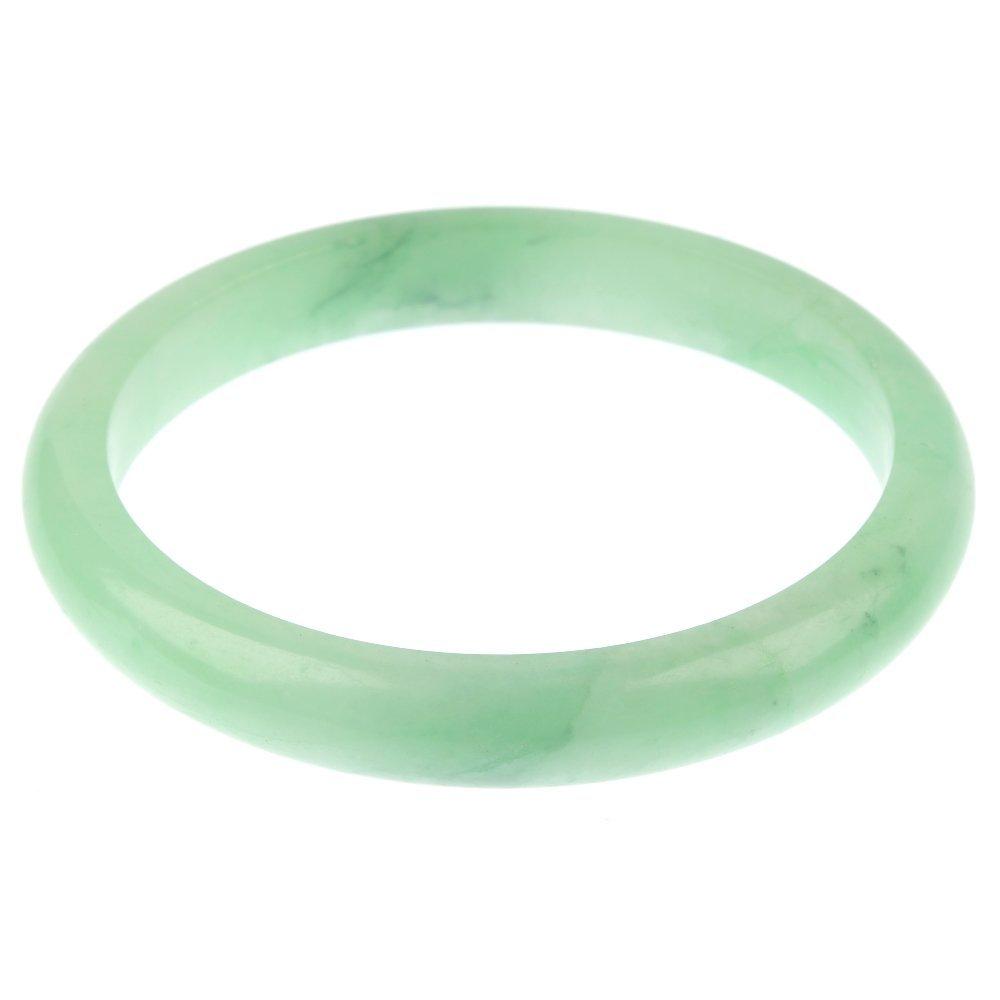 A jadeite bangle.