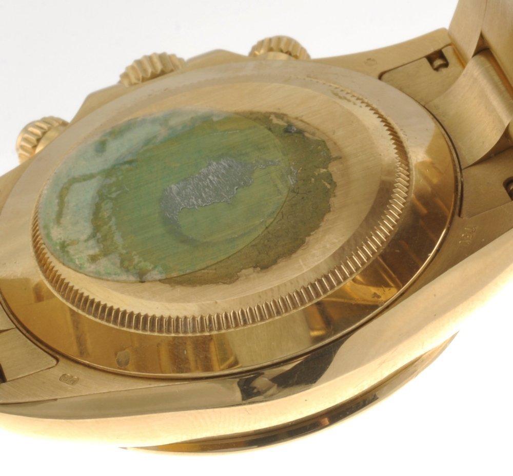 (528247-4-A) An 18k gold automatic gentleman's Rolex Da - 2