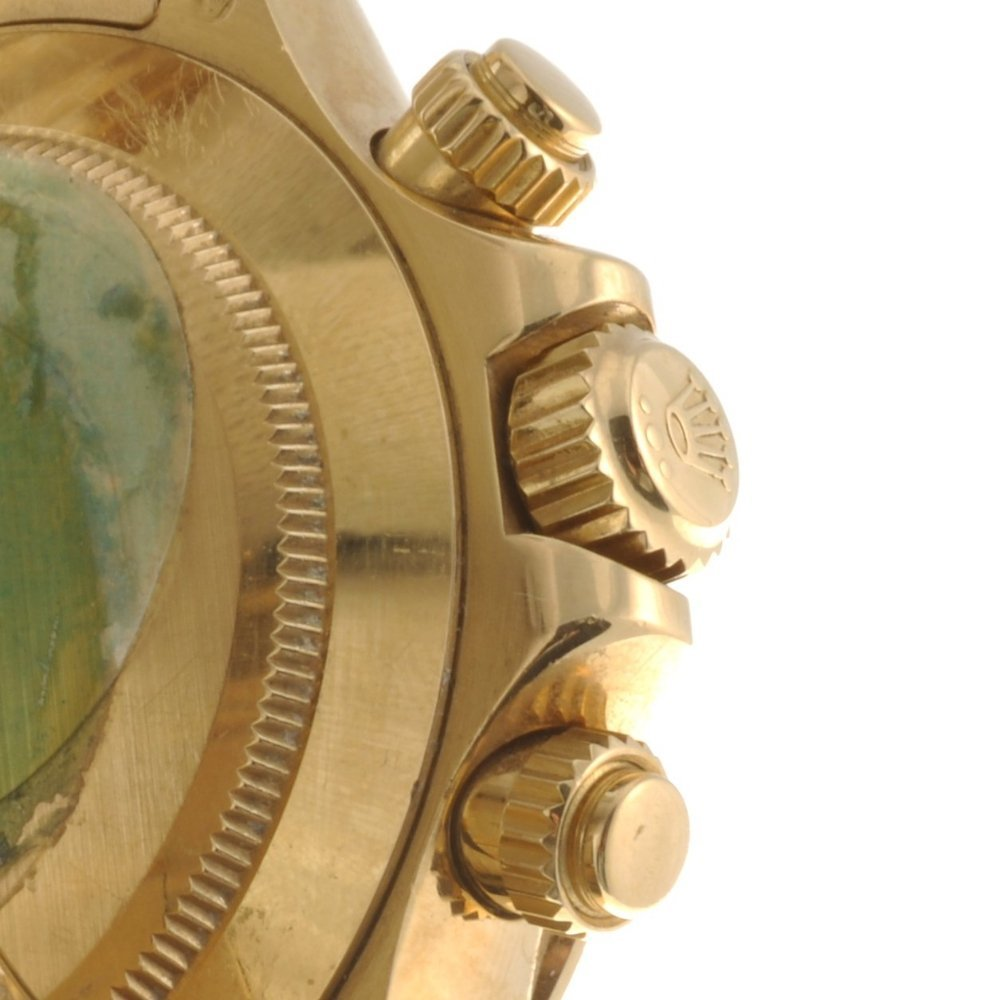 (528247-4-A) An 18k gold automatic gentleman's Rolex Da - 3