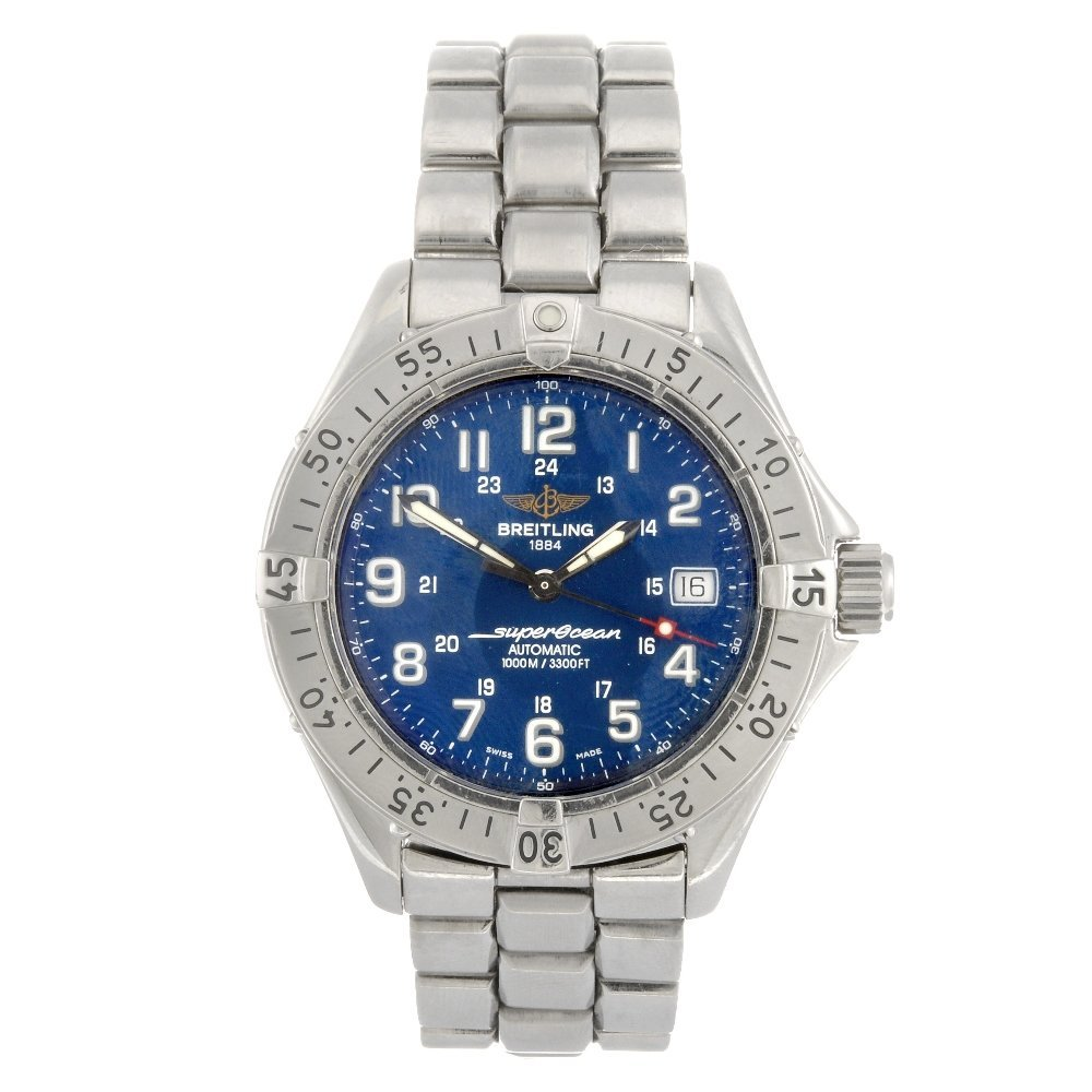 (207304224) A stainless steel automatic gentleman's Bre