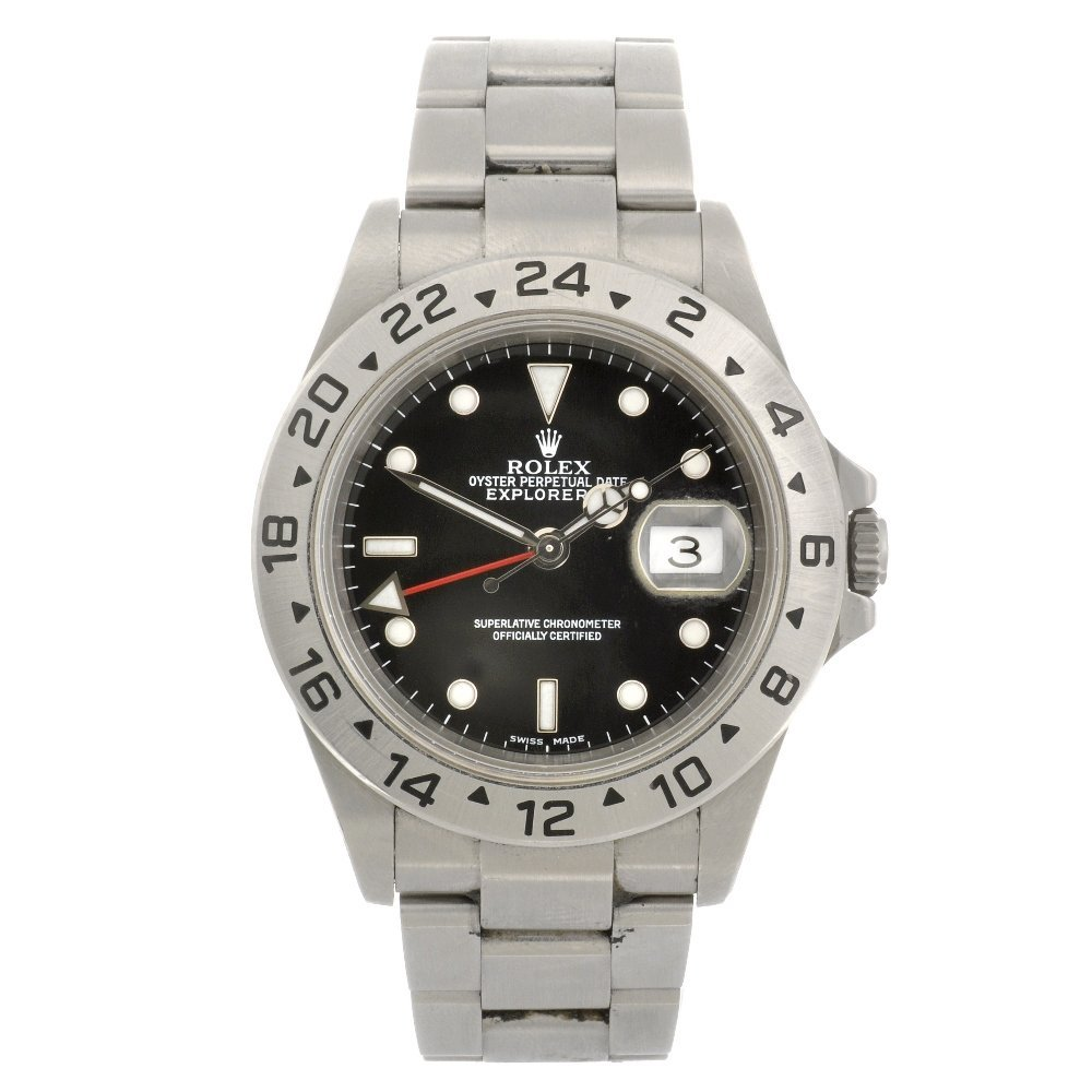 (702072460) A stainless steel automatic gentleman's Rol