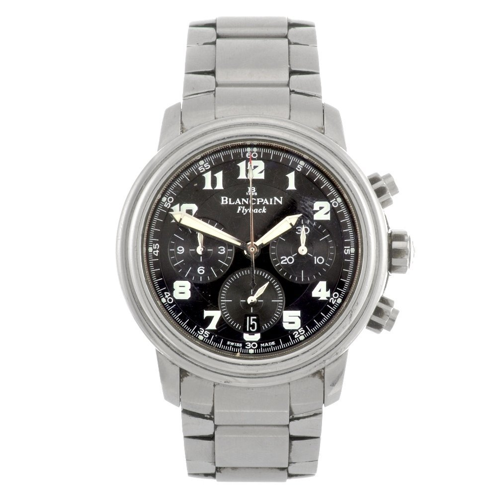 (108836) A stainless steel automatic gentleman's Blancp
