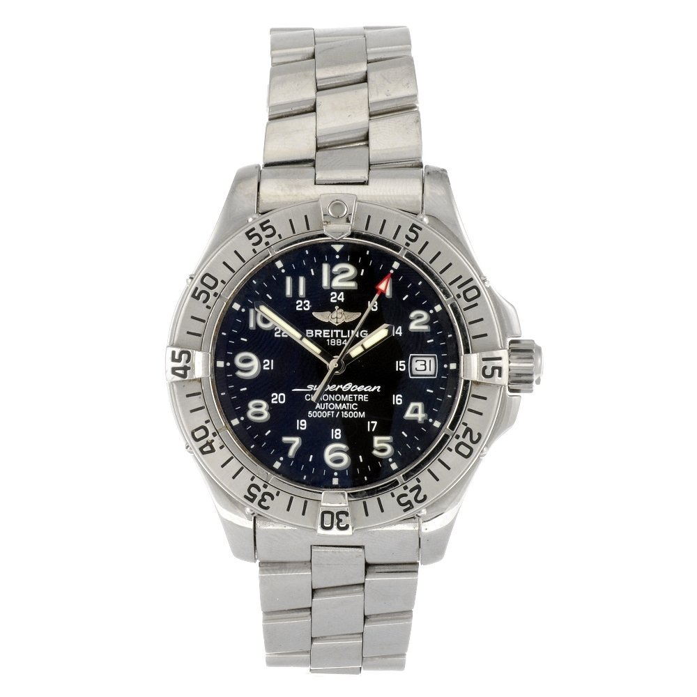 (712013379) A stainless steel automatic gentleman's Bre