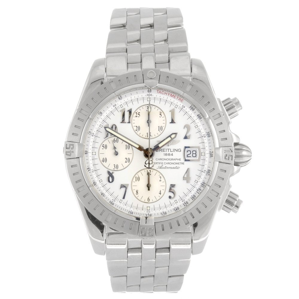 (72062) A stainless steel automatic gentleman's Breitli