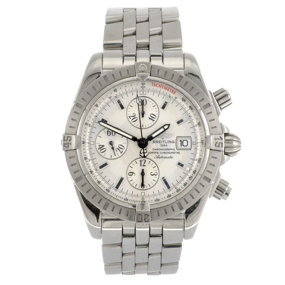(921002891) A stainless steel automatic gentleman's Bre