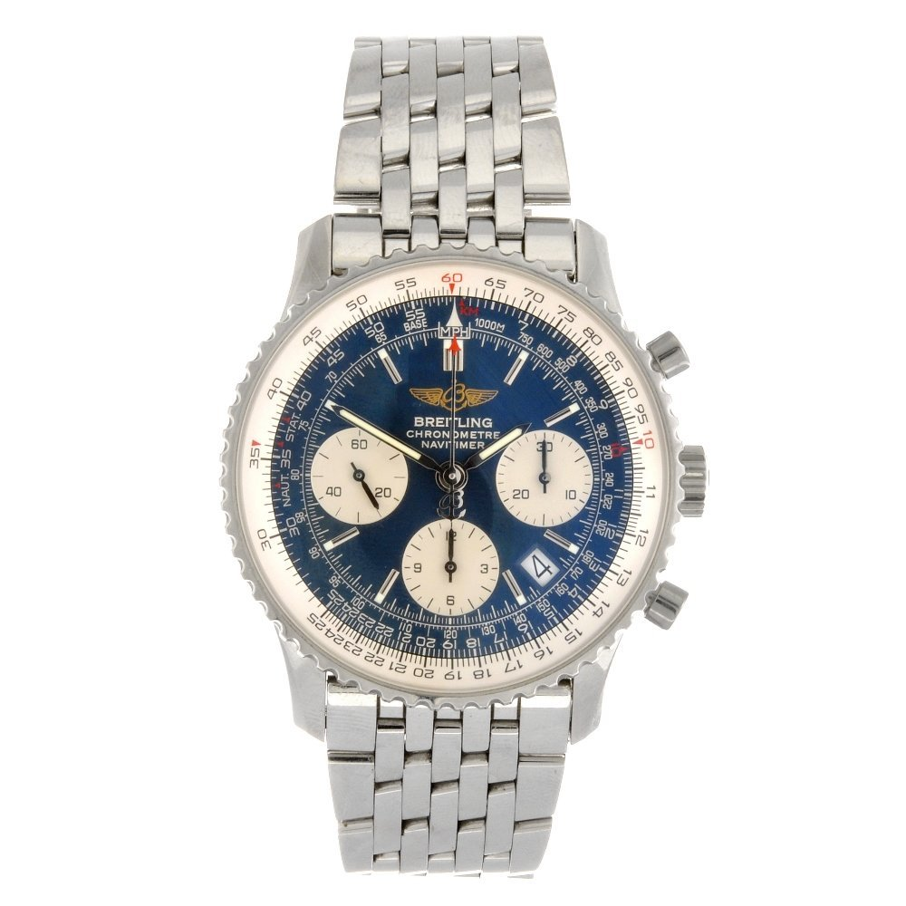 (920001139) A stainless steel automatic chronograph gen