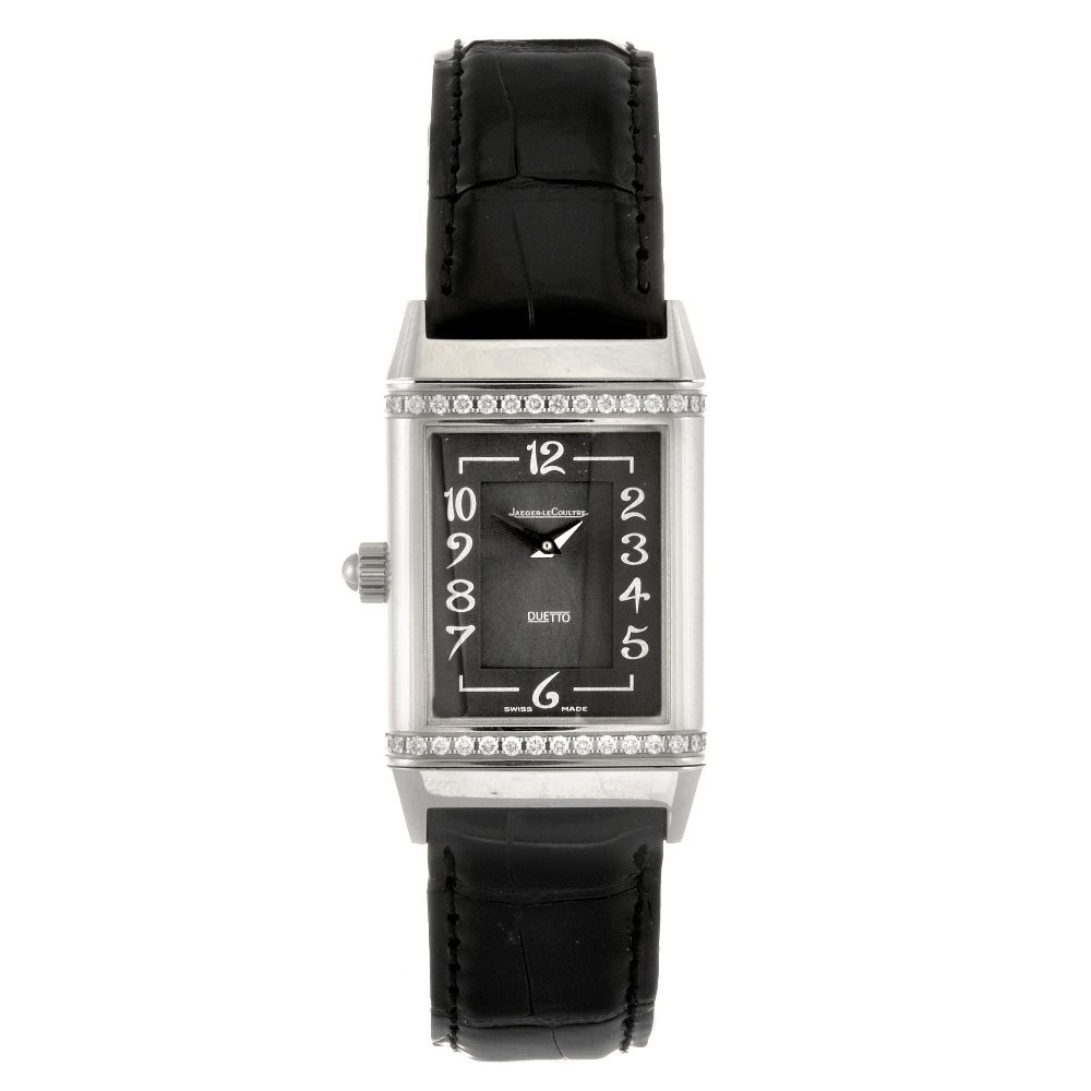 (808010982) A stainless steel manual wind lady's Jaeger