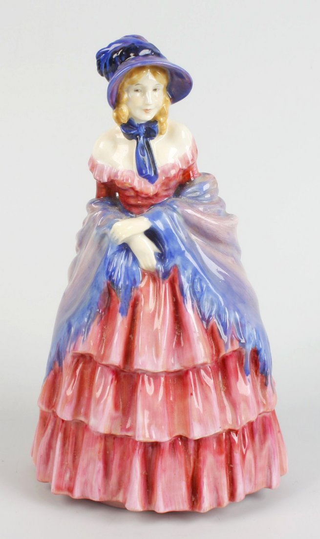 "A Royal Doulton figure, ""A Victorian Lady"""
