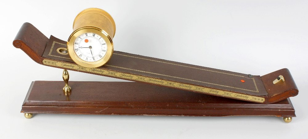 An Imhof incline plane clock