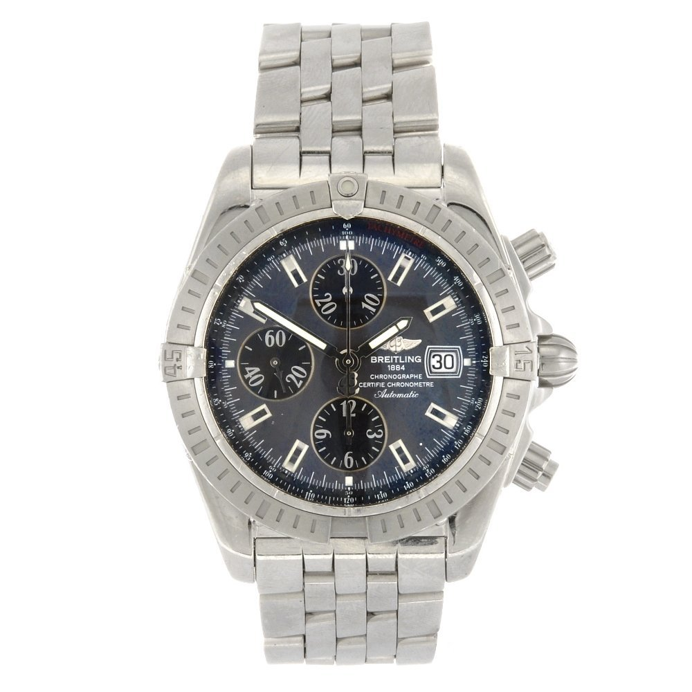 (902007017) A stainless steel automatic chronograph gen