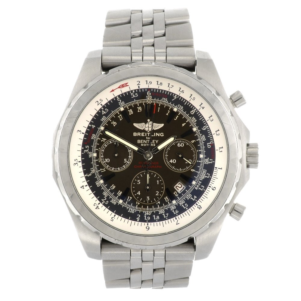 (948000919) A stainless steel automatic gentleman's Bre
