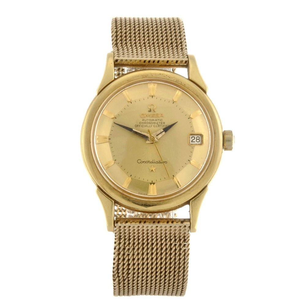 (103219) An 18ct gold automatic gentleman's Omega Const