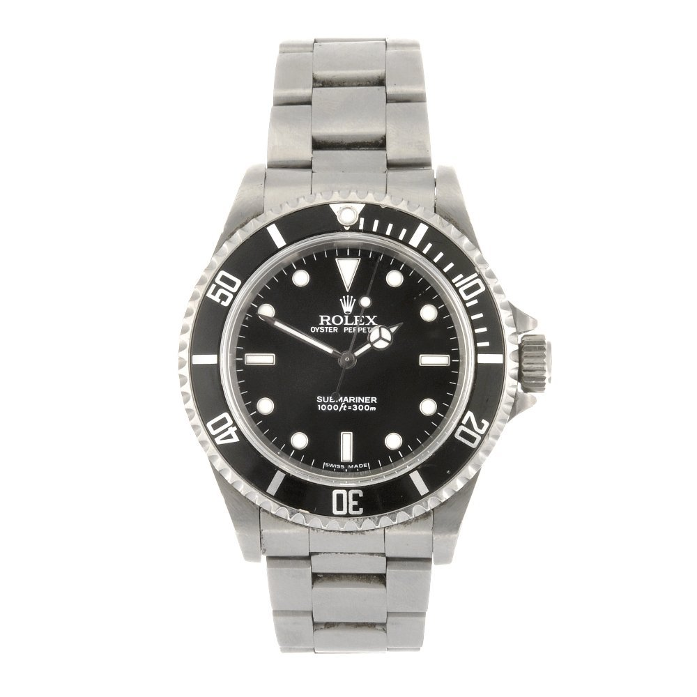 (907005854) A stainless steel automatic gentleman's Rol