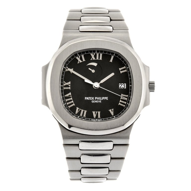 A stainless steel automatic gentleman's Patek Philippe