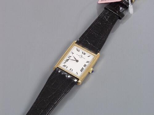 2001: BAUME & MERCIER - gentleman's 18ct gold