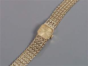 BUECHE GIROD - lady's 9ct gold integral