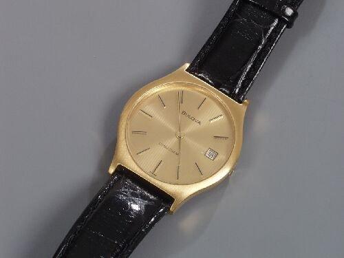 2006: BULOVA - gentleman's 1970's gold plated
