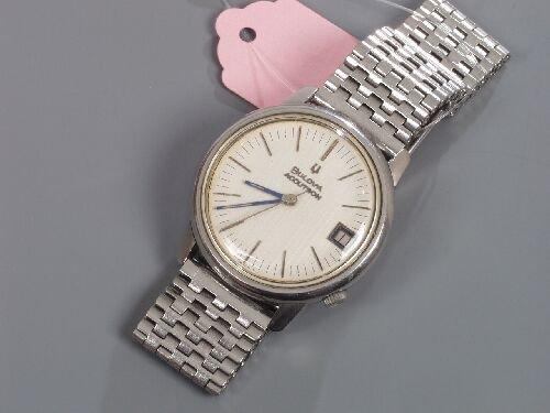 2007: BULOVA - gentleman's steel Accutron wit