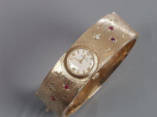2013: GIRARD PERREGAUX - a lady's 9ct gold ma
