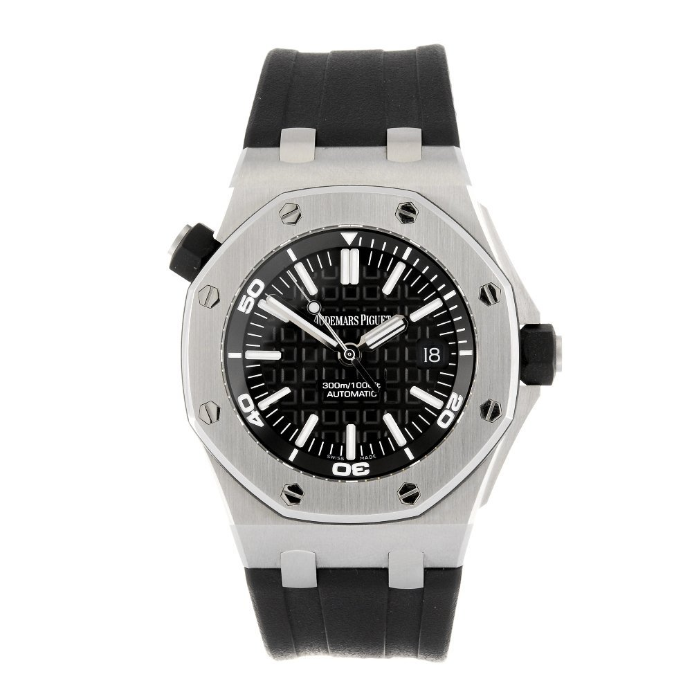 (113341) A stainless steel automatic gentleman's Audema