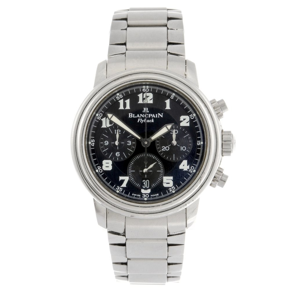 (108836) A stainless steel automatic chronograph gentle