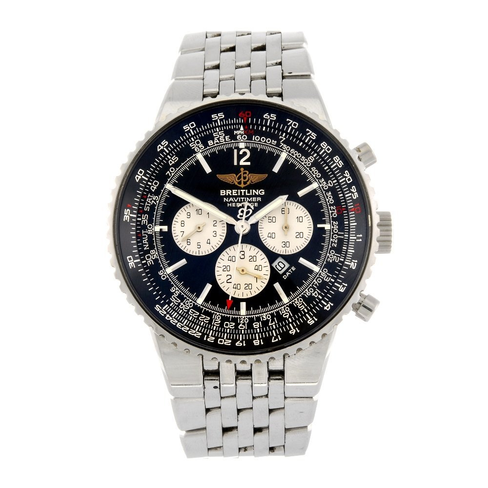 (205155195) A stainless steel automatic gentleman's Bre