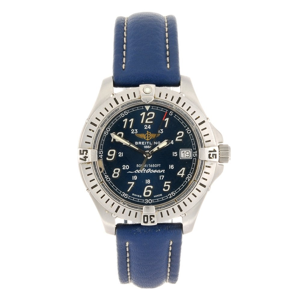 (413016275) A stainless steel quartz mid-size Breitling