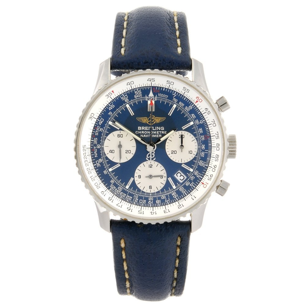 (100505) A stainless steel automatic chronograph gentle