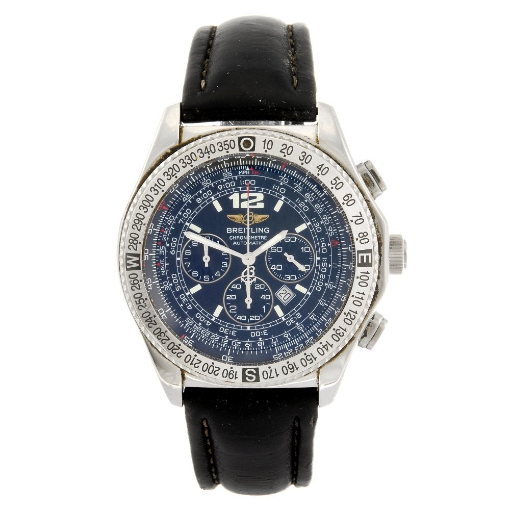 (101591) A stainless steel automatic chronograph gentle