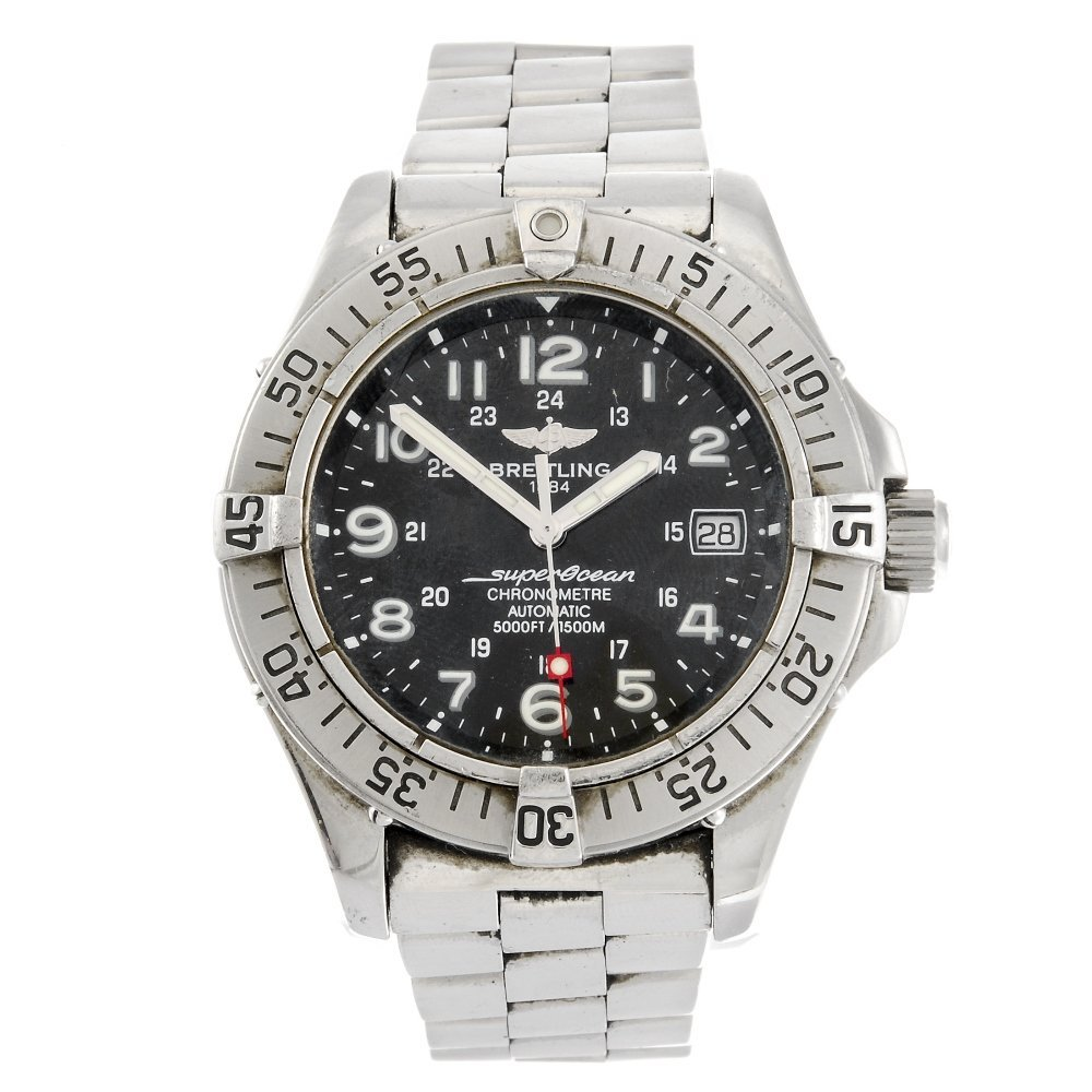 (112186) A stainless steel automatic gentleman's Breitl